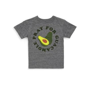 Toddler's & Little Boy's Guacamole Prayers Triblend Streaky Tee