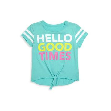 Toddler's, Little Girl's & Girl's Hello Good Times Jersey Tee