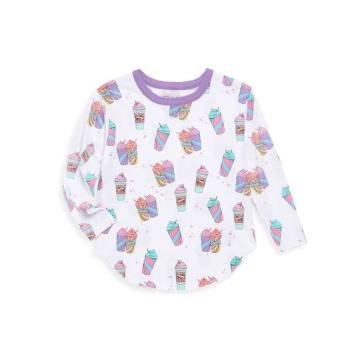 Toddler's & Little Girl's Drinkee Vintage Jersey Tee
