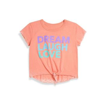 Toddler's, Little Girl's & Girl's Dream, Laugh, Love Vintage Jersey Tee