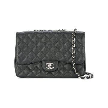 double chain flap bag