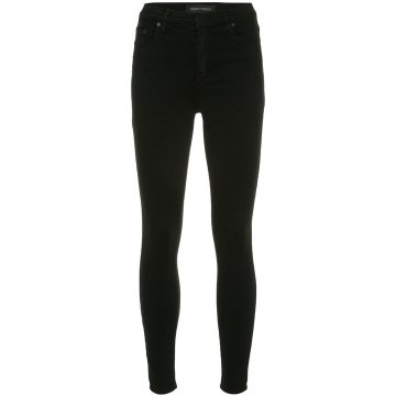 Cult Skinny Ankle Blk Sateen