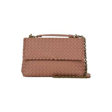 Bottega Veneta Light Pink Olimpia Bag