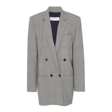 Oxford Double-Breasted Wool Jacket
