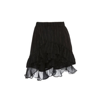 Malou Layered Silk Skirt