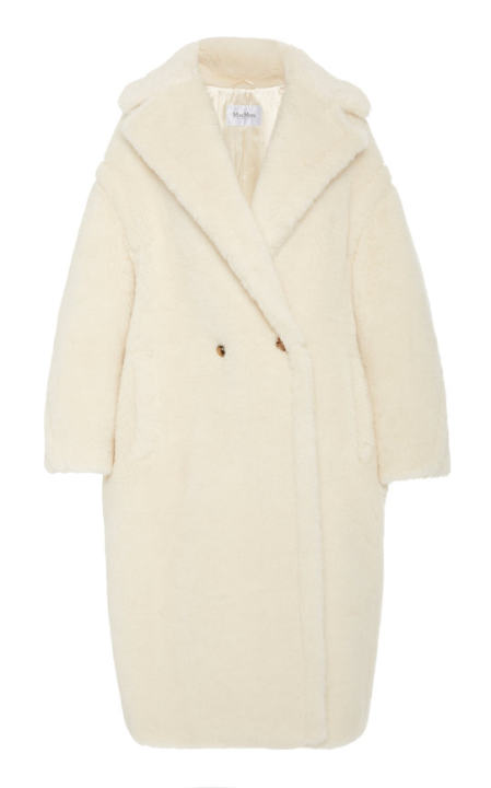 Tedgirl Oversized Alpaca and Wool-Blend Coat展示图