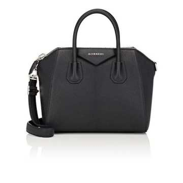 Antigona Small Leather Duffel Bag