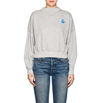 Madilon Cotton-Blend Fleece Sweatshirt