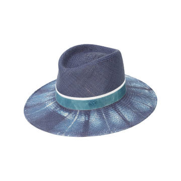 Charles bleached denim hat