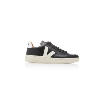 Bastille Two-Tone Leather Sneakers