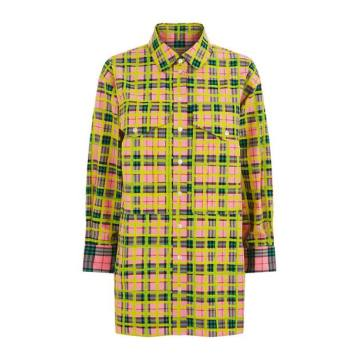 Painted Check Shirt