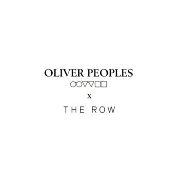 Oliver Peoples x The Row